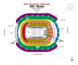 map air canada centre seating map the air canada centre