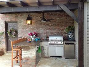 backyard kitchens outdoor kitchen patio on pinterest outdoor kitchen