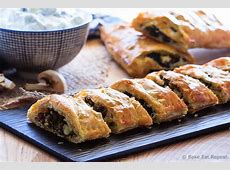Beef, Spinach and Mushroom Strudel - Bake.Eat.Repeat. Meat Spinach Cheese Pastry