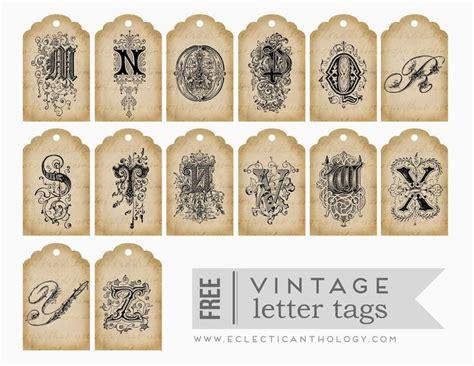 printable letters vintage imprimolandia vintage printables pinterest vintage