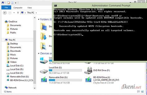cara membuat bootable usb via cmd cara membuat bootable usb windows 10 8 8 1 7 tanpa