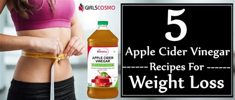 weight loss using apple cider vinegar weight loss diet home remedies