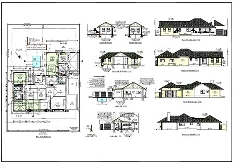 architectural design of house plan