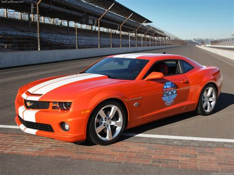 Chevrolet camaro ss indy 500 pace car 2010 1024x768 wallpaper 01