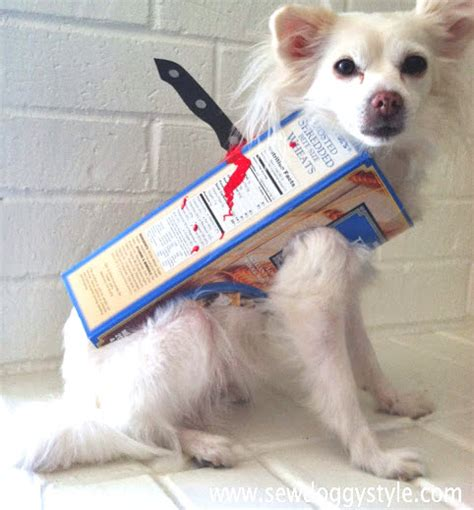 killer dogs diy cereal killer costume petdiys