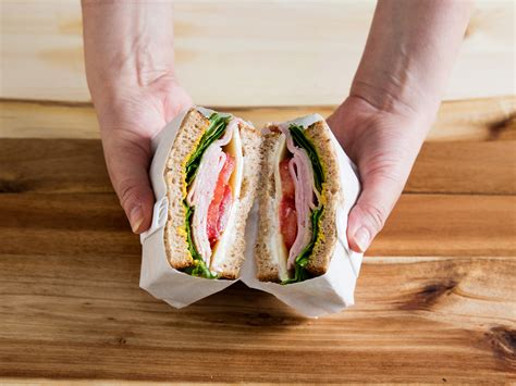 How To Make A Paper Sandwich - how to wrap your sandwiches for better on the go