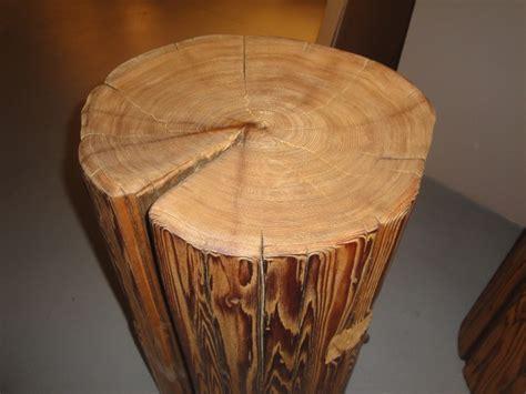 Tree Stump Bar Stools by Custom Made Wood Stump Stools Bar Stools And Counter