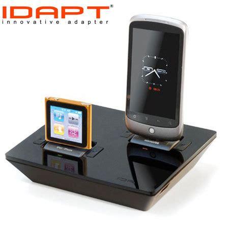 Desktop Universal Charger Delcell idapt i2 universal desktop charger black