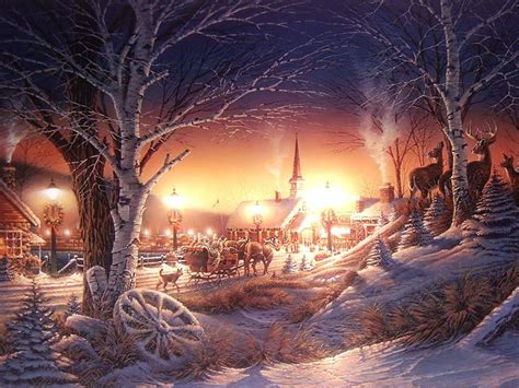 wallpaper christmas scenery christmas scenery wallpapers wallpaper cave