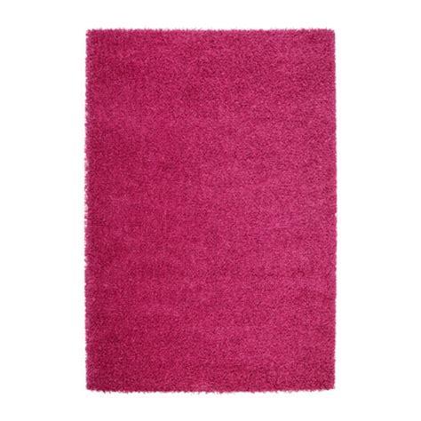 teppich pink hen rug high pile ikea