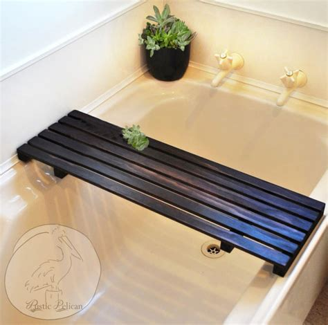 bathtub caddy tray rustic bathtub caddy bathtub tray tub tray wood by