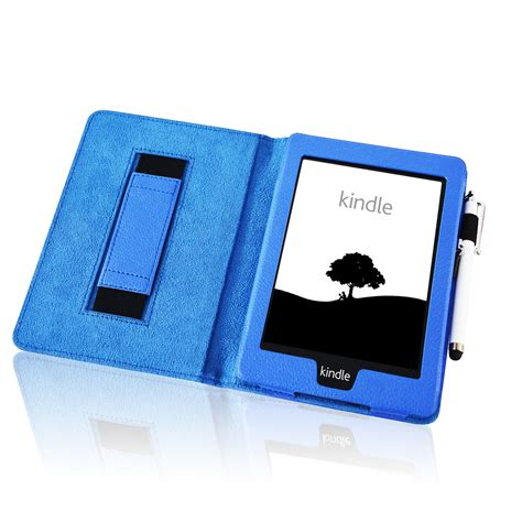 ebay kindle leather strap smart case cover for amazon kindle