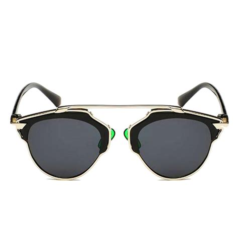 cat eye retro glasses modern sunglasses