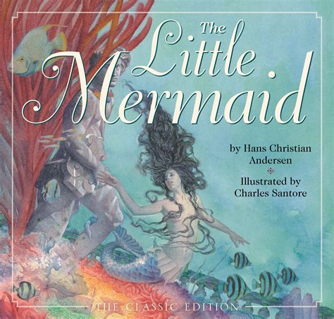 mermaid picture books the mermaid book by hans christian