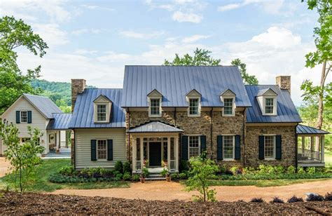 stone farmhouse plans the southern living idea house by bunny williams