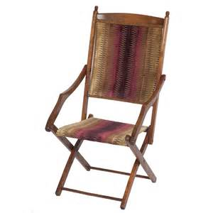 Edwardian Upholstery Fabric Stylish Edwardian Folding Campaign Chair The Unique Seat