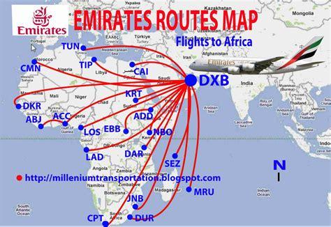 emirates route trans indonesia rute penerbangan emirates