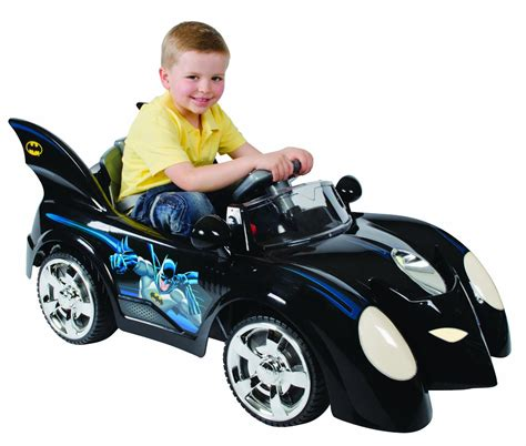 kid car batmobile 6 volt electric ride on car is
