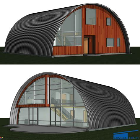 curved roof cabin curved roof homes cottages dwelltech construction ltd