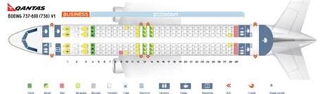 Built In Window Seat With Storage - seat map boeing 737 800 qantas airways best seats in the plane