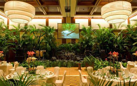 Rainforest Themed Events   ballroom rainforest rainforest themed event at four
