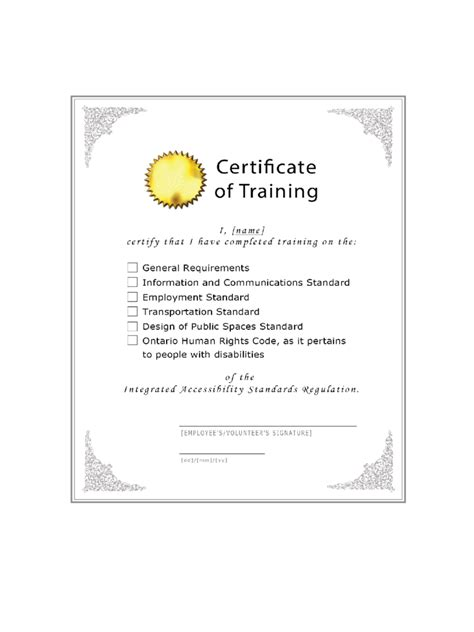 training certificate 6 free templates in pdf word