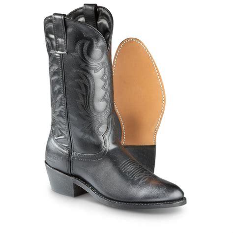 mens boots 12 guide gear s 12 quot cowboy boots 223925 cowboy