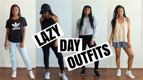 cute af lazy day outfit ideas youtube