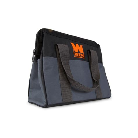 wen 12 in collapsible tool bag 49111 the home depot