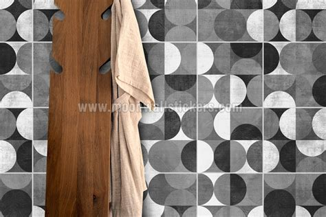 wall tiles stickers wall tile stickers mid century rounded