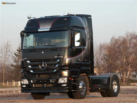 Car Wallpaper Mp3 by Mercedes Actros 1855 V8 Edition Mp3 2010