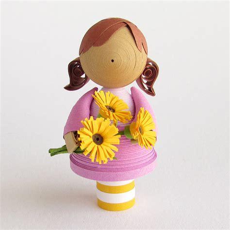 quilling dolls craft art ideas
