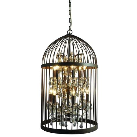 home decorating with chandeliers y decor hunter 12 light rustic black cage chandelier