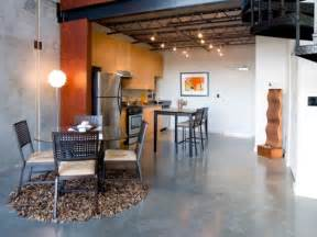 Concrete Kitchen Floor Concrete Floors Both A Statement And A Functional Choice For Modern Homes