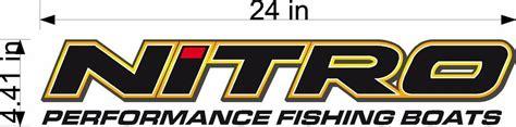 nitro boats sticker 24 quot nitro boats logo vinyl vehicle decal window and