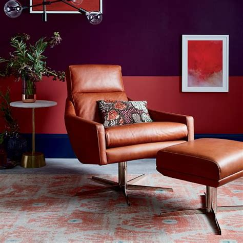 living room furniture austin austin leather swivel armchair west elm