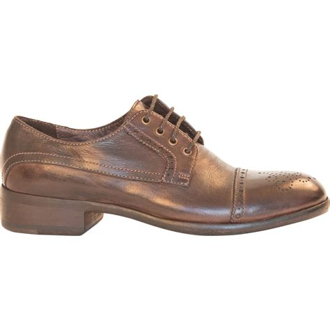brown leather oxford shoes dip dyed brown leather oxford shoes paolo shoes