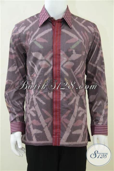 Baju Tenun Asli jual kemeja tenun motif obama tenun asli troso