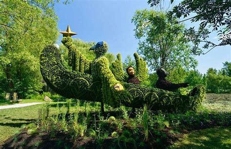 Parking Botanical Gardens Montreal Esculturas Vegetales Incre 237 Bles En Jard 237 N Bot 225 Nico De