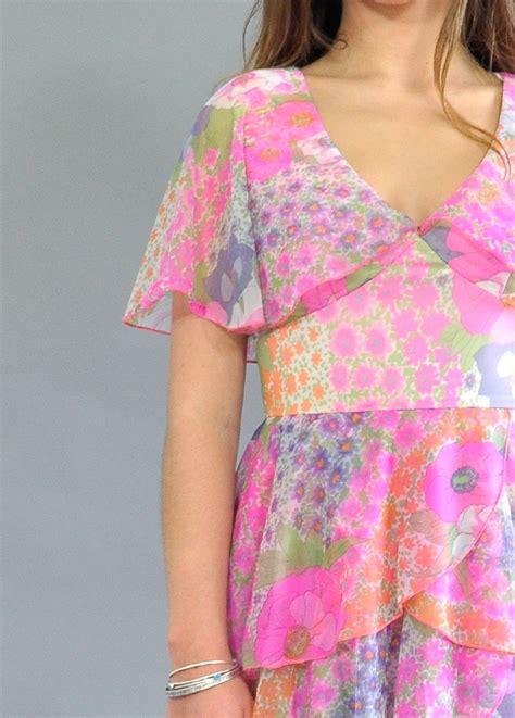 vintage festival dress boho vintage dress designer