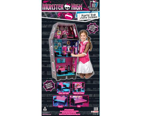 new monster high doll house catchoftheday com au monster high coffin doll house