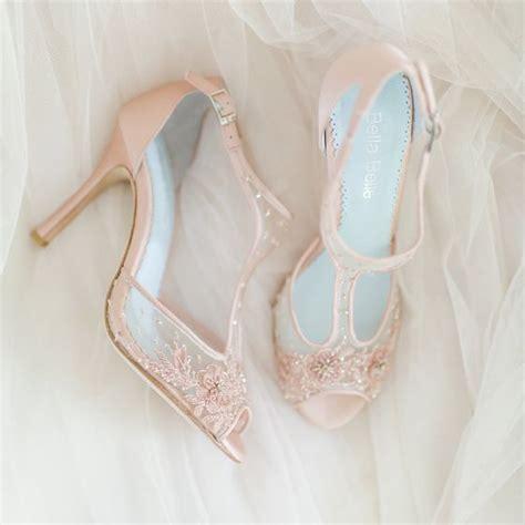 Blush Heels Wedding by Best 25 Blush Wedding Shoes Ideas On