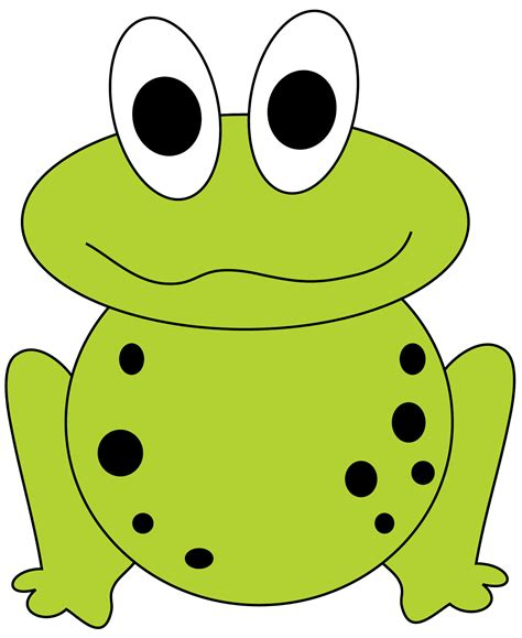 frog clipart frog border clipart