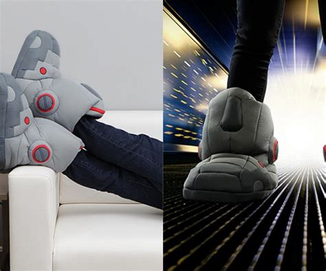 robot slippers with sound slippers
