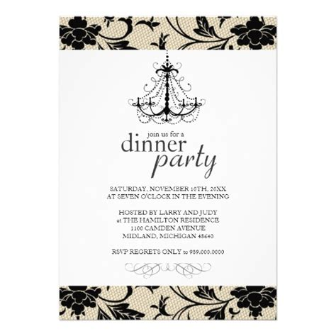 Fancy Invitation Template fancy dinner invitations 5 quot x 7 quot invitation card