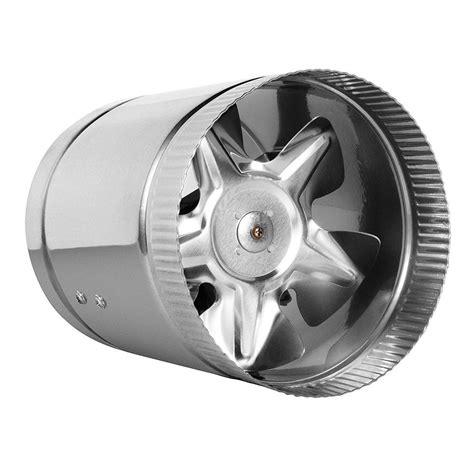 4 inline duct fan hydro crunch 100 cfm 4 in inline duct booster fan for
