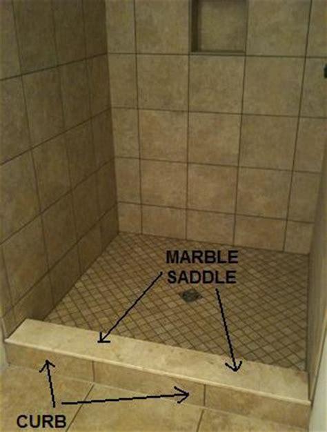 Shower tile & saddle ????   Ceramic Tile Advice Forums