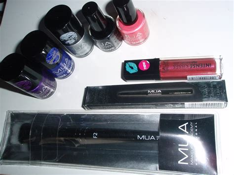 Make Up Mua haul 187 mini ordine make up academy mua cookies tea