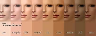 shades of skin color fabuloux what s my skin tone
