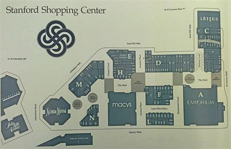 stanford shopping center map stanford shopping center guide flickr photo